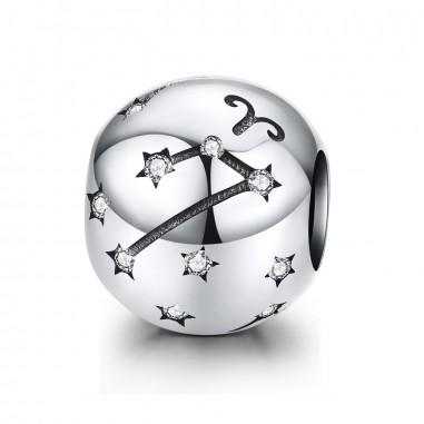 Constelatie Berbec - Talisman argint
