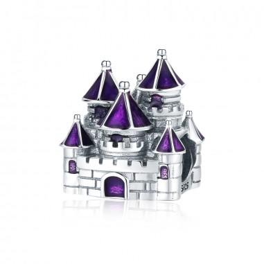 Purple Castle - Talisman argint