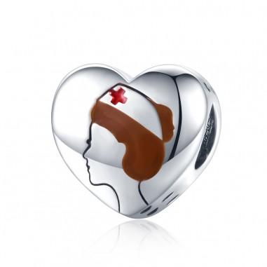 Doctors Heart - Talisman argint