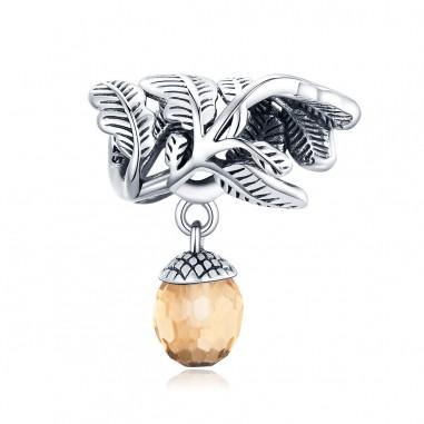 Lucky Pine Cone - Talisman argint