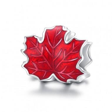 Maple Leaf - Talisman argint