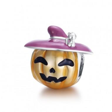 Halloween Pumpkin - Talisman argint