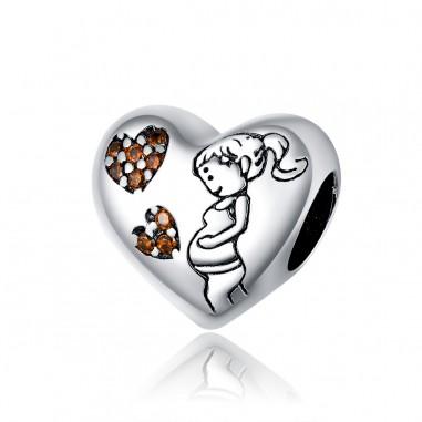 Maternal Love - Talisman argint
