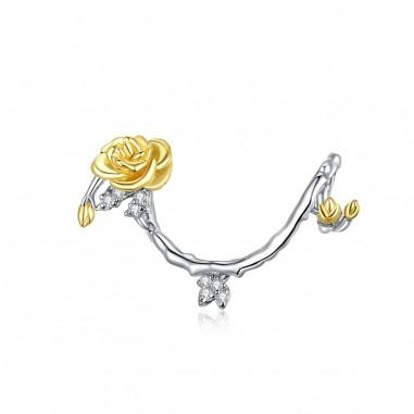 Rose Vines - Talisman argint