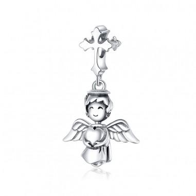 Smiling Angel - Talisman argint