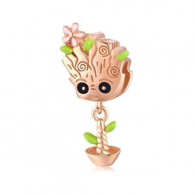 Little Tree Man - Talisman argint
