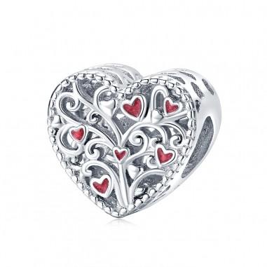 Tree of Hearts - Talisman argint