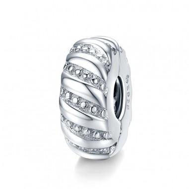 Minimalist Style - Talisman Clips argint