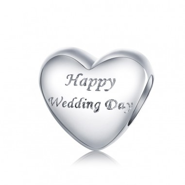 Happy Wedding Day - Talisman argint