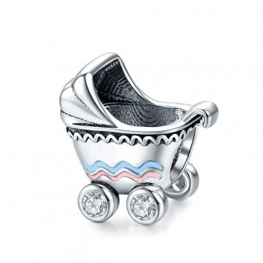 Baby Stroller - Talisman argint