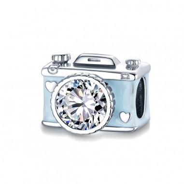 Shiny Camera - Talisman argint