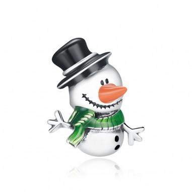 Little Snowman - Talisman argint