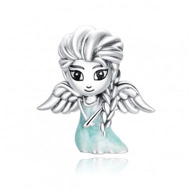 Snow Fairy Elsa - Talisman argint