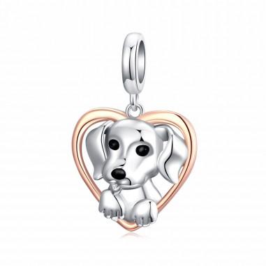 Puppy Heart - Talisman argint