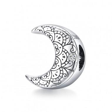 Crescent Moon - Talisman argint