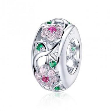 Dazzling Flower - Distantier argint