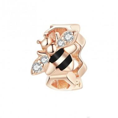 Little Bee - Distantier argint Rose Gold