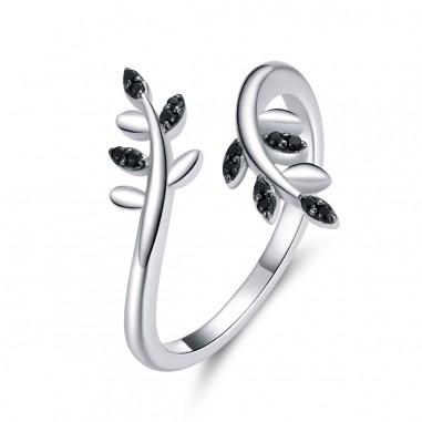 Tree Branch - Inel argint reglabil
