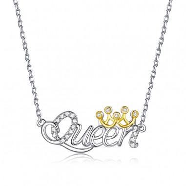 Queen - Colier argint