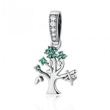 Spring Tree - Talisman argint