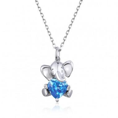Baby Elephant - Colier argint