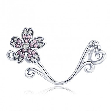 Sakura Flower - Talisman argint