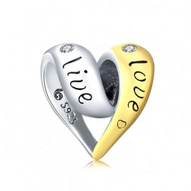 In Love - Talisman argint