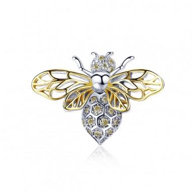 Crystal Bee - Talisman argint