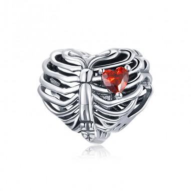 Beating Heart - Talisman argint