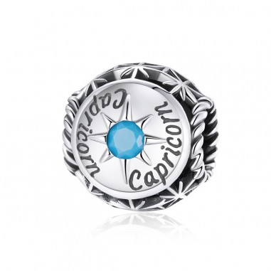 Constelatie Capricorn - Talisman zodiac argint