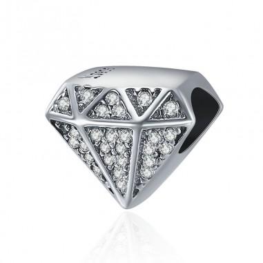 Luxury Diamond - Talisman argint