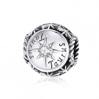 Constelatie Taur - Talisman zodiac argint