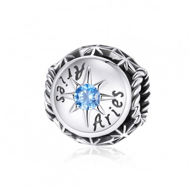 Constelatie Berbec - Talisman zodiac argint