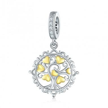 Tree of Love - Talisman argint