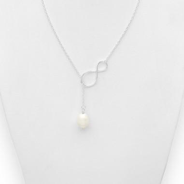 Infinit Pearl - Colier argint