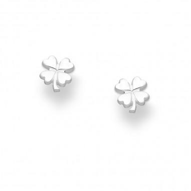 Silver Clover - Cercei argint