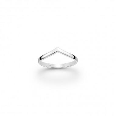 Simply Elegant V - Inel argint falanga