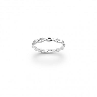 Classic Chain - Inel argint falanga