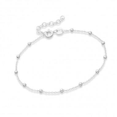 Elegant ball - Bratara argint