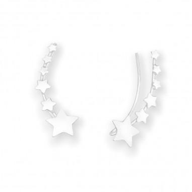 Shooting Stars - Cercei argint