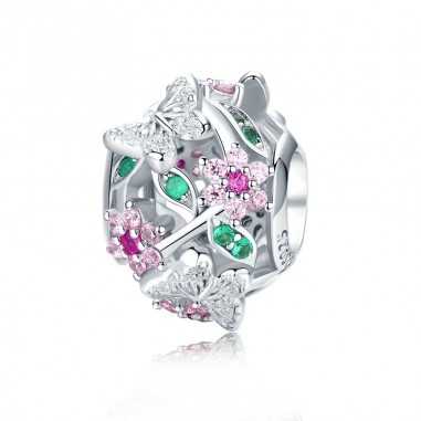 Dazzling Flowers - Talisman argint