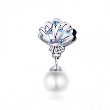 Pearl Shell - Talisman argint