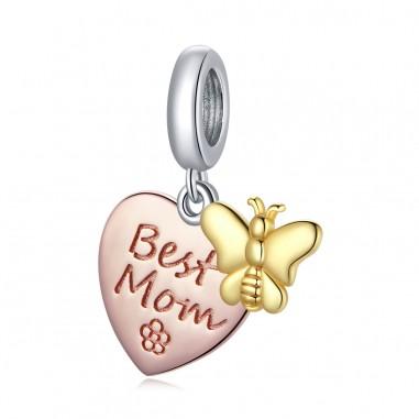 Best Mom - Talisman argint