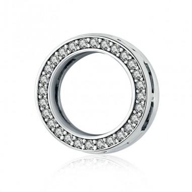 Gentle Circle - Talisman argint Flat
