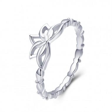 Lotus Flower - Inel argint