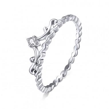 The Crown - Inel argint