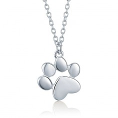 Animal Footprint - Colier argint