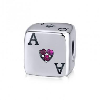 Lucky Dice - Talisman argint