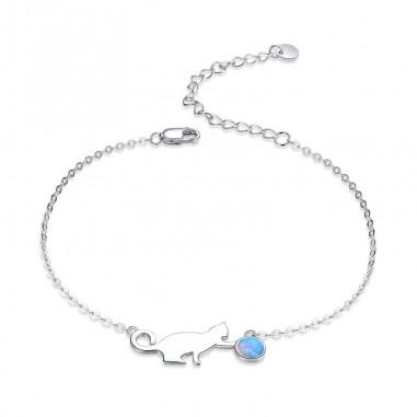 Opal Kitty - Bratara argint