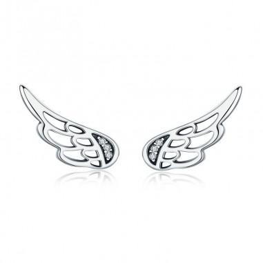 Fairy Wings - Cercei argint